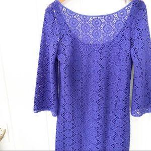 Lilly Pulitzer Topanga Tunic Dress (Purple)